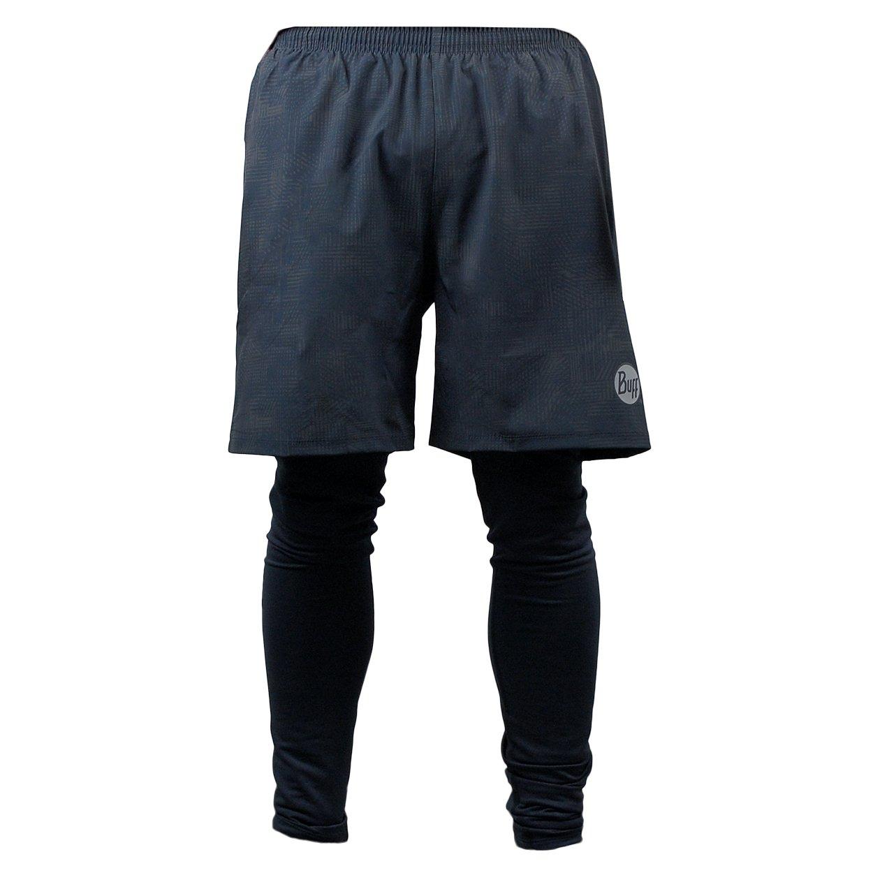Buff Herren Long Pant Tassel Tassel Pant Hybrid - Farbe Schwarz 817aa6