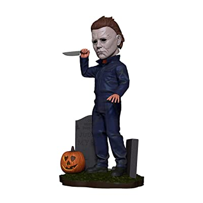 NECA Halloween 2020 Head Knocker Michael Myers 8-Inch Bobble Head: Toys & Games [5Bkhe0507378]