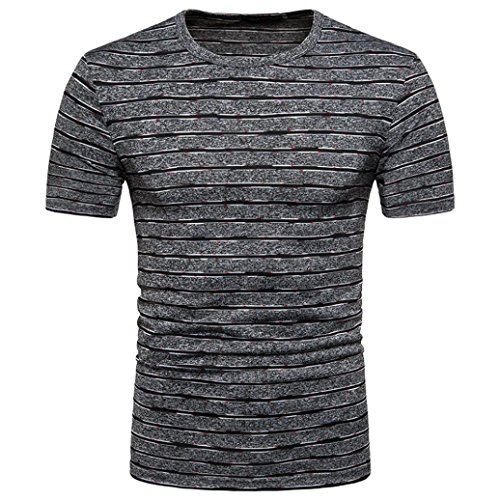 Clearance! Hot sale ! Charberry Men's Summer Casual Stripe P