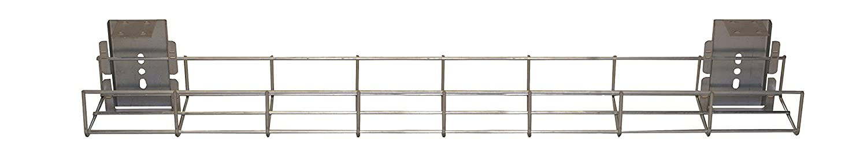 PDU Online 800mm long Standard Under Desk Basket Tray (incl. 2 x brackets) BT800