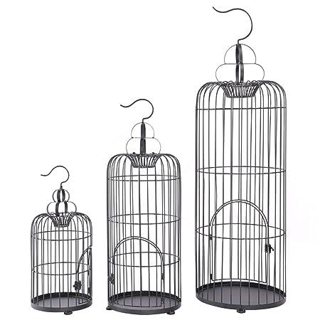 jaula Adornos de Hierro Forjado pájaros Europeos, Accesorios de ...