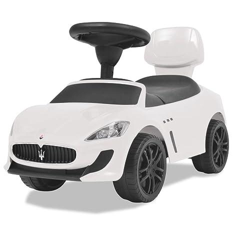 a130efd6ba Luckyfu Auto per Bambini Maserati 353 Bianca.macchina cavalcabile bambino  macchina bambino macchina giocattolo bambino