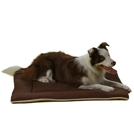 QIAOQI Cojín de Cama para Perro, Colchón para Perro, Suave para Mascotas (Perro