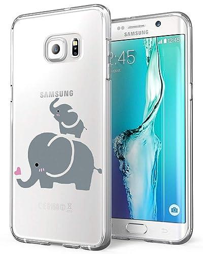 Amazon.com: Fantasydao - Carcasa para Samsung Galaxy S6 Edge ...