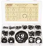 337 Piece, 3/8 to 3'', SpRing Assortment Steel, Snap Internal Retaining Ring Assortment
