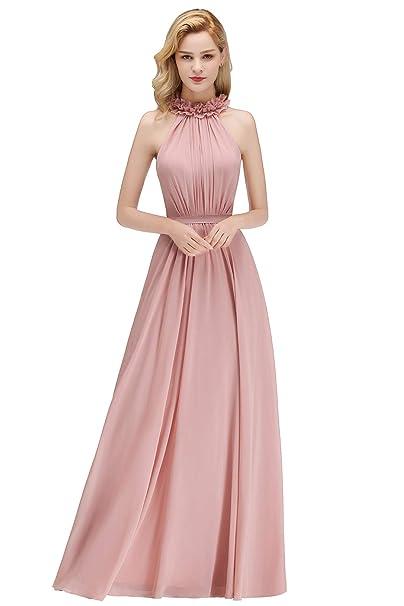 Abendkleider Bekleidung MisShow Damen elegant Chiffon Lace ...