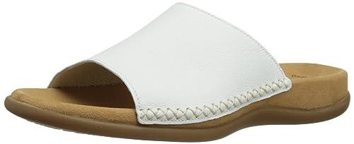Gabor Shoes Damen Gabor Pantoletten, Bianco