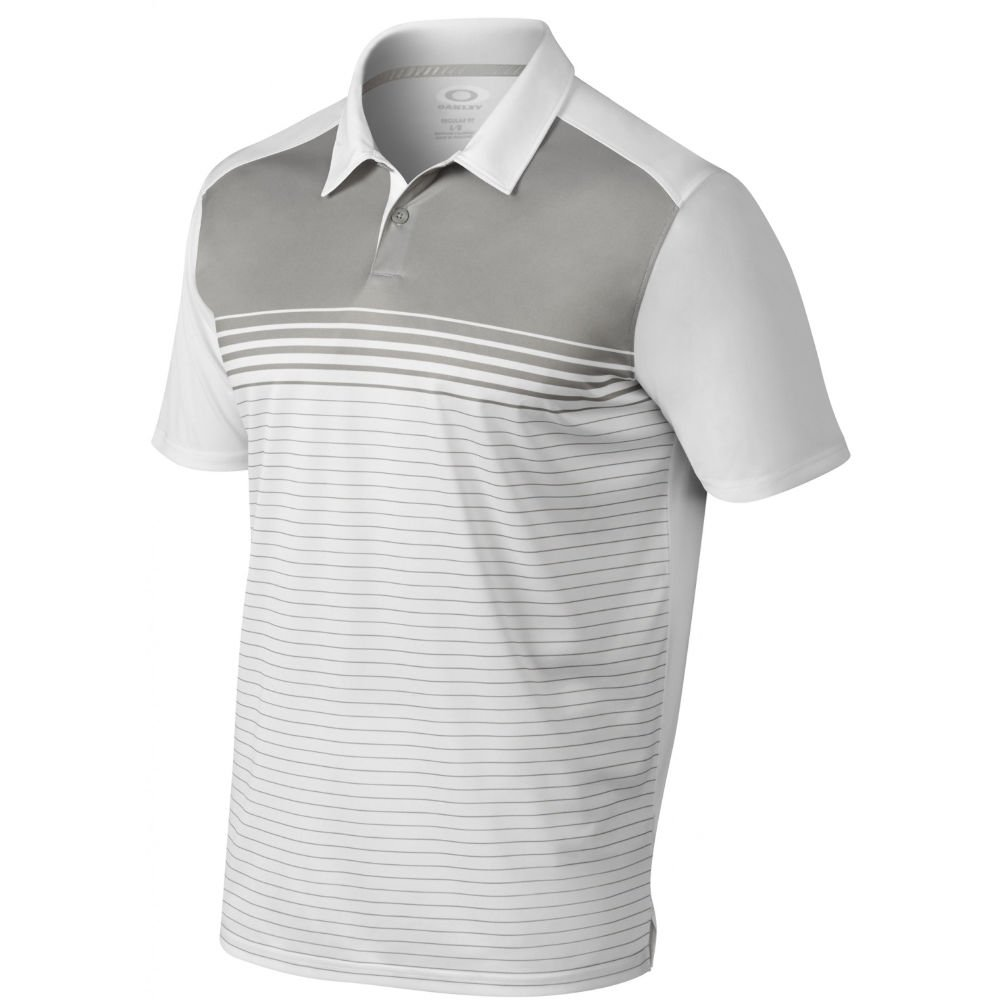 Oakley Mens Nelson Polo Shirt X-Large White by Oakley