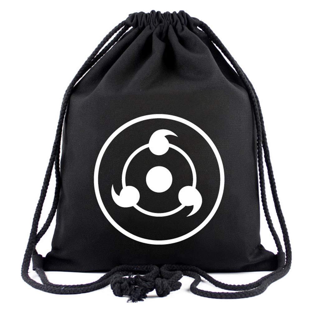 Bowinr Naruto 巾着式バックパック 日本のアニメ ナルト疾風伝 ジム バックパック スポーツ 紐付きバッグ 子供 ティーン 大人 アニメファン向け B07QSQ1KHS スタイル02