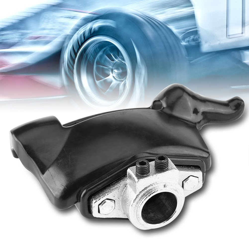Qiilu Black Tire Changer Machine Plastic Nylon Mount Demount Duck Head Kit Dia 28mm 30mm(30mm)