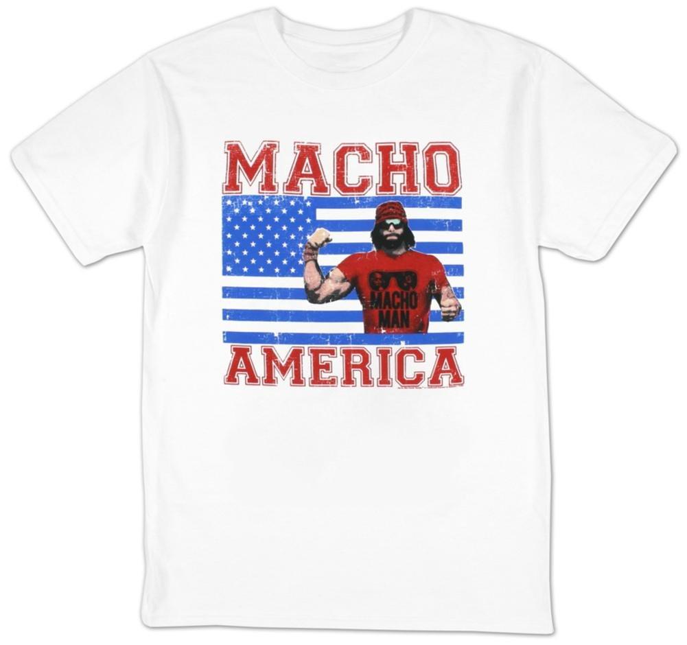 Macho Man - Macho America T-Shirt Size XXL