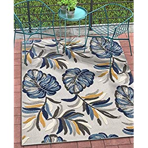 61pta33od3L._SS300_ Best Tropical Area Rugs