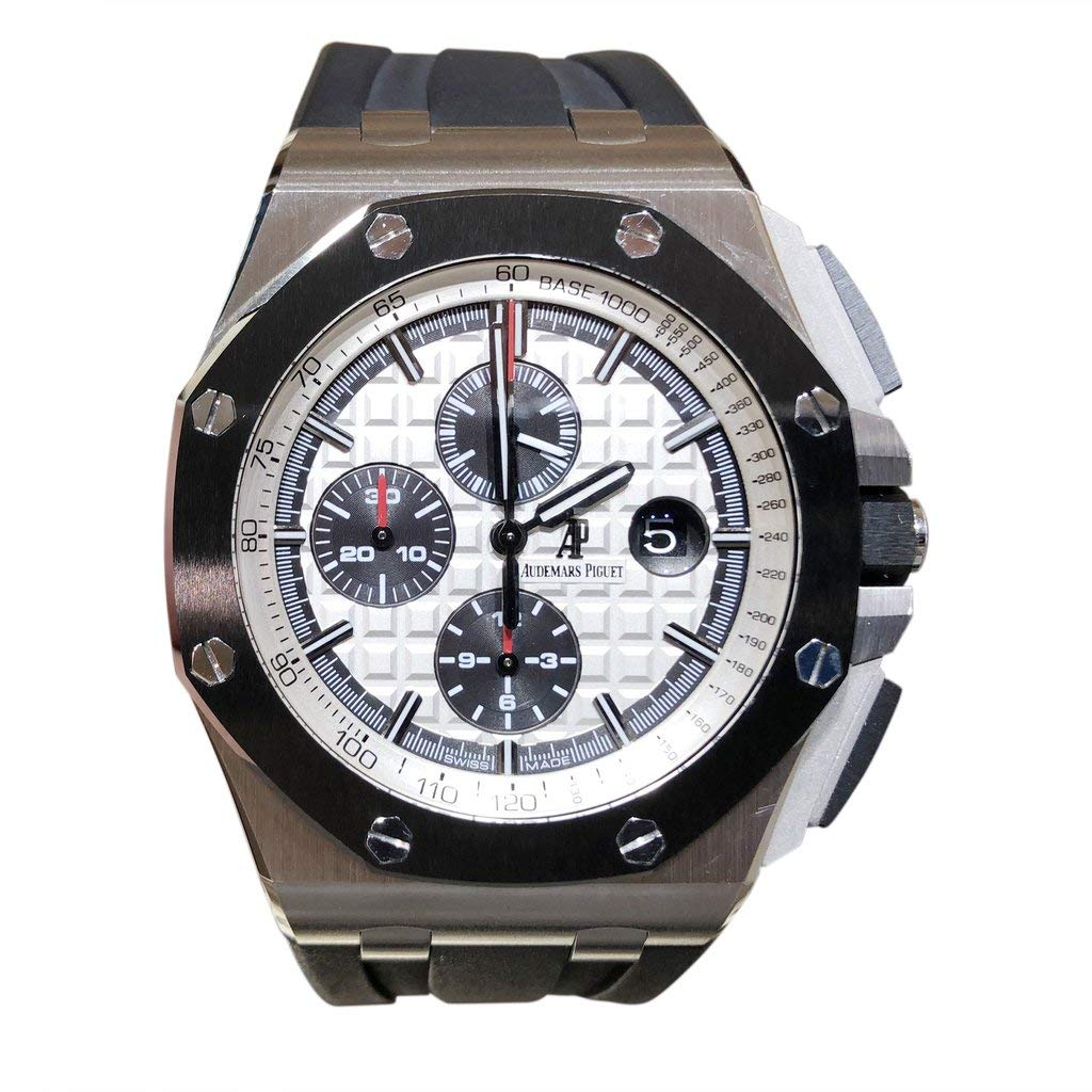 966765f70f6 Amazon.com: Audemars Piguet Royal Oak Offshore 44MM Steel 26400SO  Certified-Pre-Owned: Watches