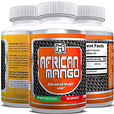 Get a Healthy body Weight! - African Mango capsules for Women by MEGATHOM Health Nutrition | 60 capsules Laboratory tested