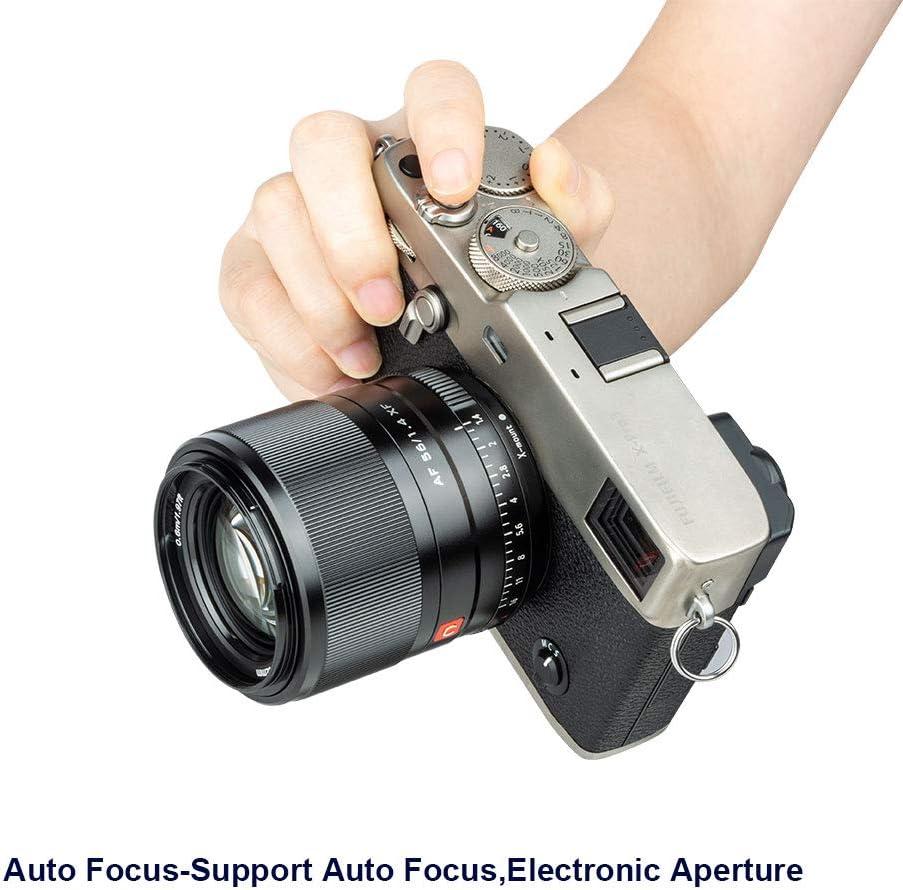 VILTROX 56 mm F1.4 AF MF STM Fixfokus Prime Objektiv Autofokus f/ür Fuji X Mount Fujifilm X-T3 X-T2 X-T1 X-T30 X-T20 X-T100 Kameras