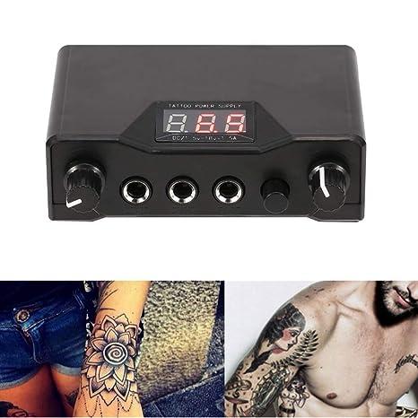 Máquina de suministro de energía para tatuajes con pantalla de visualización digital y diseño de energía