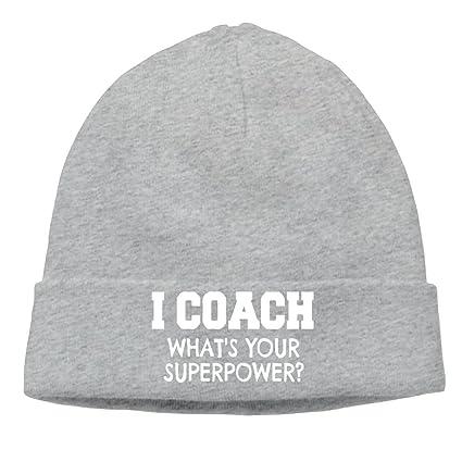 2859a215 Richard lyons men i coach whats your superpower cool street dance ash  beanies caps hats jpg