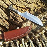 Andy Alm Drop Point Railroad Spike Knife Review