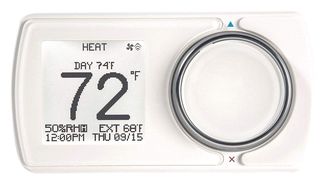 LUX Low Voltage WiFi Thermostat, Stages Cool 3, Stages Heat 2: Amazon.com: Industrial & Scientific