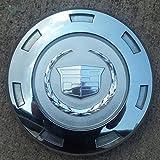 """22 Inch 2007 2008 2009 2010 Cadillac Escalade Chrome Emblem OEM Center Cap Wheel Rim Cover Hubcap 9596649 9598297 or 9597950 8"""" DIAMETER"""