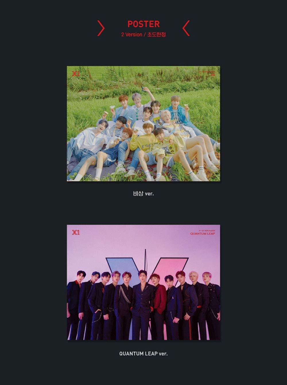 K-POP X1 - Soaring : Quantum Leap, Quantum Leap version Incl. CD, Photobook, Mini Photo Stand, Bookmark, Postcard, Pre-Order Benefit, Folded Poster by Stone Music Entertainment