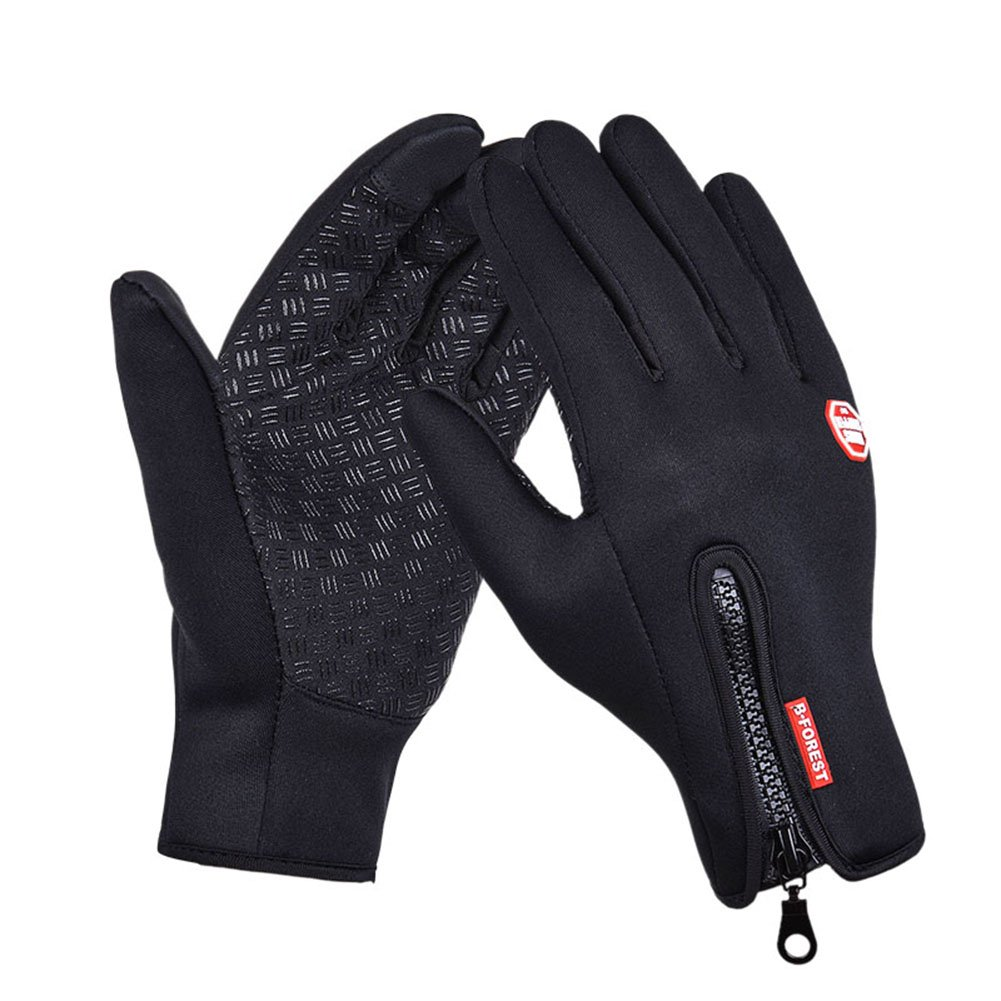 2019 1pair Suede Touch Screen Gloves Men Women Winter Thermal Gloves Outdoor Cycling Sport Ski Gloves Waterproof Apparel Accessories