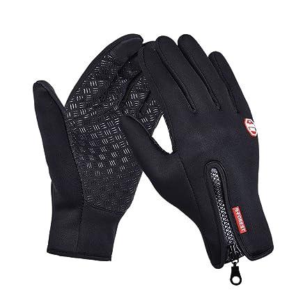 Men's Gloves 2018 New Mens Ski Outdoor Windbreak Waterproof Skid-proof Touch Screen Skiing Motorcycle Riding Snowboard Windproof Gloves