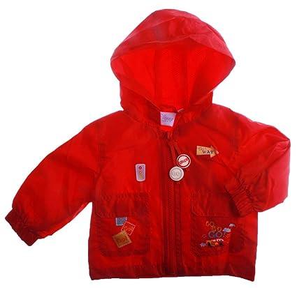 Chaqueta capucha impermeable Cirrusfil Medium bebé niño MC Queen Cars rojo 23 meses