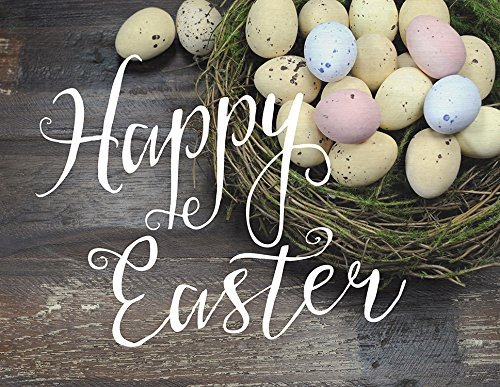 - Jada Venia/Kindred Hearts-Inspirational Accent Lamp/Light Box Insert - Easter Eggs Happy Easter (9 3/4 x 7 1/2) 1-427 by Jada Venia