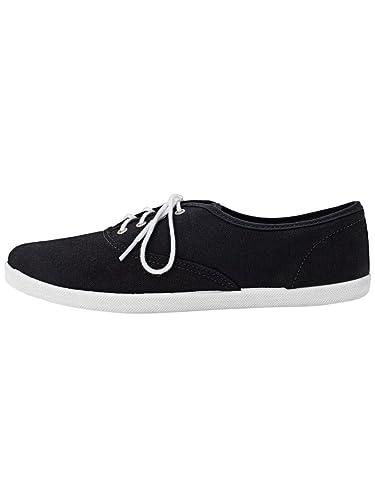 6011df3670 American Apparel Unisex Tennis Shoe - Black / US Size 10: Amazon.co.uk:  Shoes & Bags