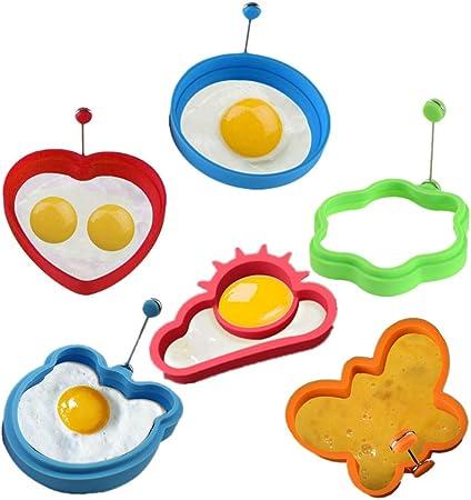 KeepingcooX® Molde de silicona para huevos y tortitas ...