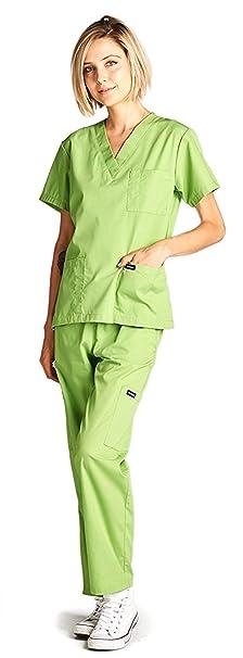 Amazon.com: Dagacci Medical Scrubs Uniform Women and Man Scrubs Set Scrubs Medical Top and Pants: Clothing