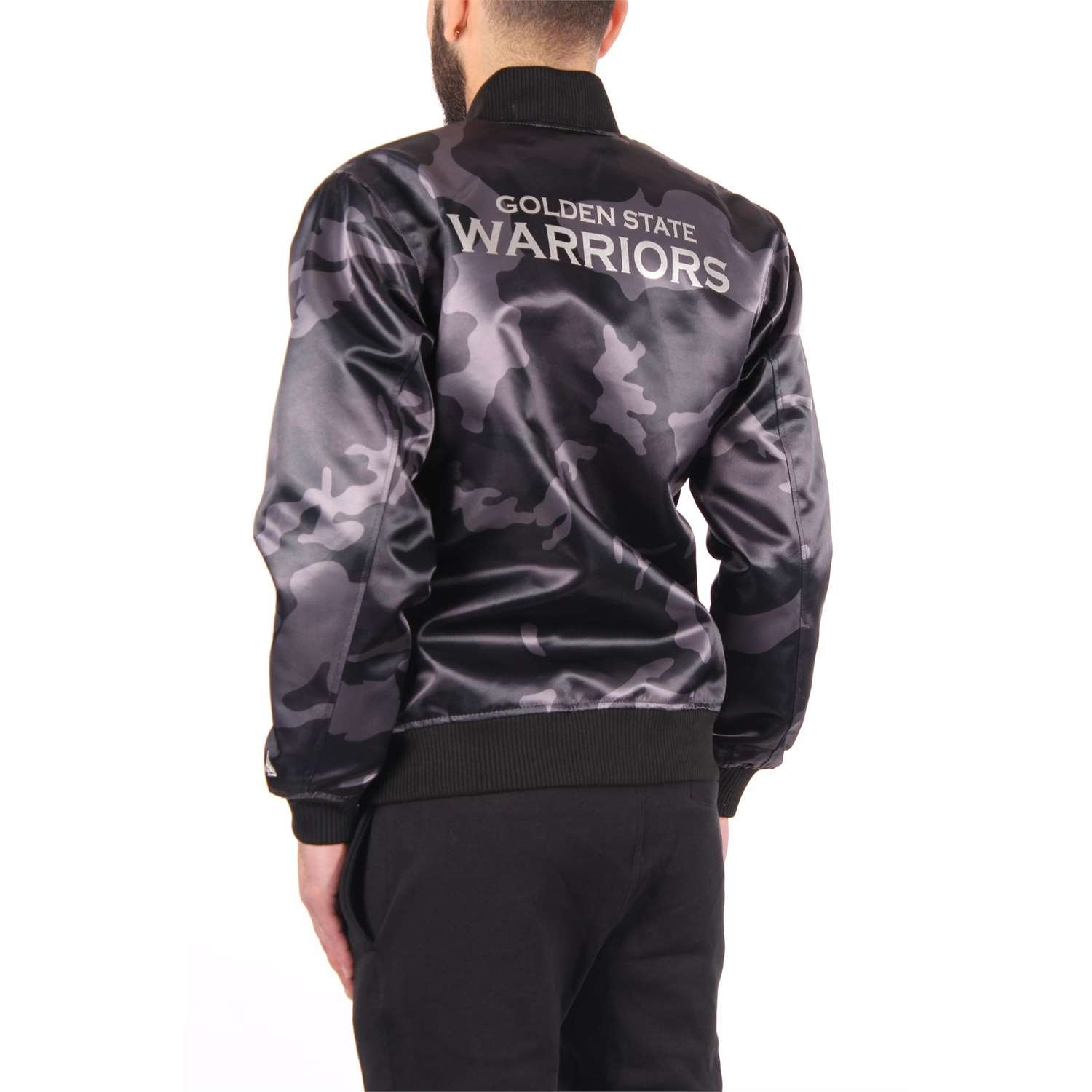 A NEW ERA Chaqueta NBA Golden State Warriors Bng Sateen Gris ...