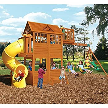 Amazon Com Kids Outdoor Adventure Clubhouse With Twist N