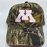 NCAA New Ladies Minnesota Golden Gophers Embroidered Adjustable Buckle Cap