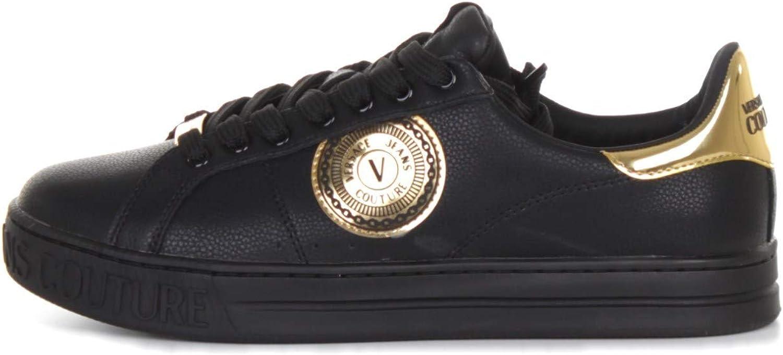 Versace Jeans Couture Hombre Fondo Court Zapatillas Nero