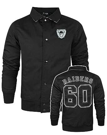 new product f2f77 5f76a Nfl Blouson New Oakland Era Men's Jacket Vintage Raiders s ...