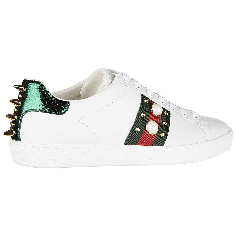 Gucci Zapatillas Deportivas Mujer Bianco: Amazon.es: Zapatos y complementos