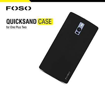 online store c6958 68751 Foso Quicksand Shell Rough Back Cover for OnePlus 2