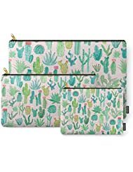 Society6 Cactus Carry-All Pouch