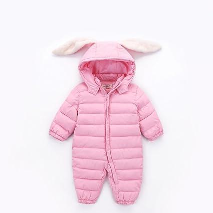 WAZY Saco De Dormir para Bebés Orejas De Conejo Lindas Llevan Ropa Interior Acolchada DE 0