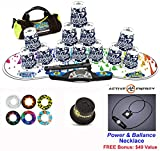 Speed Stacks Combo Set ''The Works'': 12 DIGITAL CAMO 4'' Cups, RAINBOW DROP Gen 3 Mat, G4 Pro Timer, Cup Keeper, Stem, Gear Bag + Active Energy Necklace