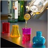 Vasos de Chupito Chemistry (pack de 4)