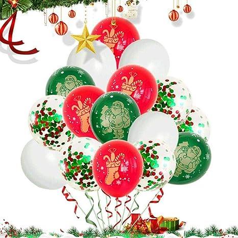 Globos de helio de látex para Navidad, 30 unidades, globo ...