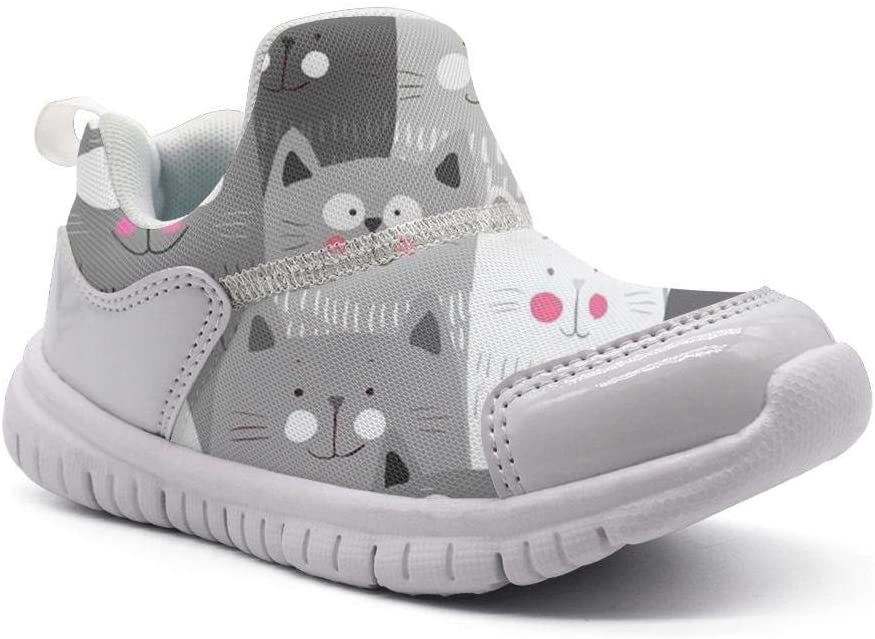 ONEYUAN Children Lovely Cat Creative Design Kid Casual Lightweight Sport Shoes Sneakers Running Shoes
