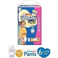 Babyjoy MP Culotte Unisex Size 6 Junior XXL (16+ kg) 40 diapers 45451