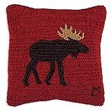 Chandler 4 Corners Brown Moose 14'' Pillow