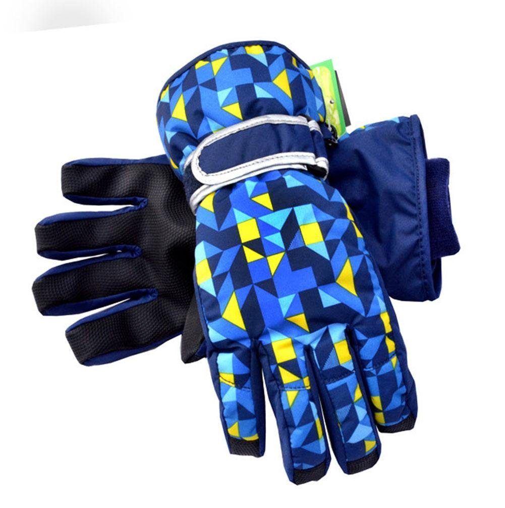 lxr Children Ski Gloves Kids Boys Girls Snowboard Gloves Waterproof Warmth Winter Skiing Snowboarding 6-14 Ages lxr lzh