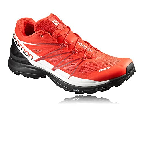 Salomon S-Lab Wings 8 Trail Running Shoe - Men s Racing Red Black ... 3782bfdc409