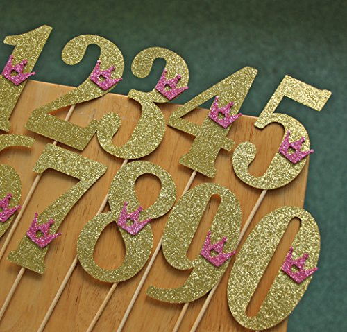 big-gold-glitter-numbers-0-9-cake-toppers-with-pink-glitter-tiara-set-of-10-300g-paper-best-quality-